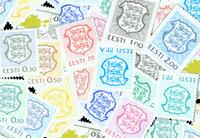 Estonia - Defins, drapeaux, maps - Mint set 18v