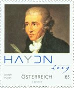 Autriche - Haydn - Timbre neuf