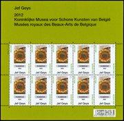 Belgique - Tournesols - Feuillet neuf