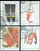 Kosovo - Traditionelle beklædningsgenstande - Stemplet sæt 4v