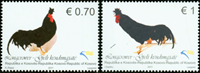 Kosovo - Hønsefugle - Postfrisk sæt 2v