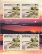 Lithuania - 200 years water measuring station - Mint souvenir sheet