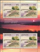 Lituanie - 200 ans de la station d'eau - Bloc-feuillet neuf