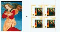 Vatikanet - Julen 2009 - Postfrisk hæfte grøn engel