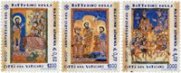 Vatican - Baptême national - Série neuve 3v