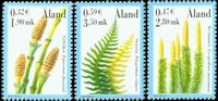 Åland - Fougères - Série neuve 3v