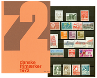 Danemark - Collection ann. 1972