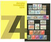 Danemark - Collection ann. 1974