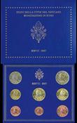 Vatican - Collection annuelle monnaies 2007 - Coll.Annuelle