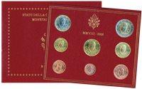 Vaticano - Colección anual monedas 2008