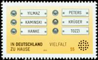 Germany - Integration - Mint stamp