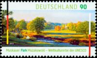 Tyskland - Muskauer Park - Postfrisk frimærke