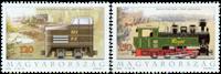 Ungarn - Lokomotiver - Postfrisk sæt 2v