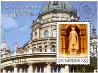 Hongrie - La cathédrale d´István - Bloc-feuillet neuf