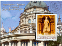 Hungary - Cathedral - Mint souvenir sheet