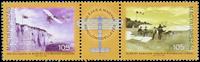 Ungarn - 100 året for flyvning - Postfrisk sæt 2v