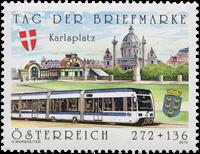 Autriche - Journée du Timbre - Timbre neuf