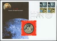 Holland - Månelanding / Neil Armstrong - Flot møntbrev