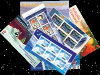 Groenland Kerst boekjes 1-7 - Postfrisse boekjes