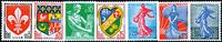 France 1960 - YT 1230-34A