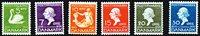 丹麦安徒生 1935年全套6枚