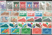 France - séries timbres service