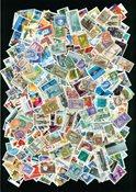 Canada - 1500 timbres oblitérés