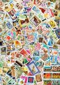 来自世界111个国家的555枚邮票