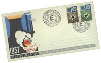 Holland year 1957 - FDC