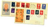 Complete jaargang 1958 FDC´s Nederland