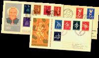 Holland 1958 - komplet år FDC'er