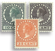 Holland 1924 - NVPH 136-138 - Postfrisk