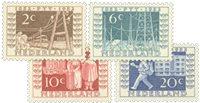 Nederland 1952 - Nr. 592-595 - Postfris