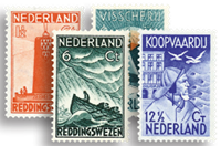 Nederland 1933 - Nr. 257-260 - Postfris