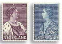 Holland 1934 - NVPH 265-266 - Ubrugt