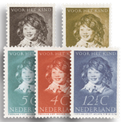 Nederland 1937 - Nr. 300-304 - Postfris