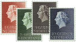 Holland 1954-1957 - NVPH 637-640 - Postfrisk