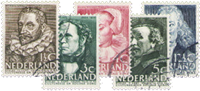 Netherlands 1938 - NVPH 305-309 - Cancelled
