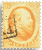 Holland 1864 - NVPH 6 - Stemplet