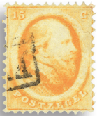 Holland 1864 - NVPH 6 - Stemplet