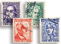 Holland 1928 - NVPH 220-223 - Stemplet