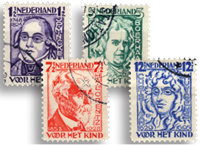 Netherlands 1928 - NVPH 220-223 - Cancelled