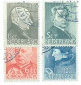 Nederland Zomerzegels 1936 - Nr. 283-286 - Gebruikt