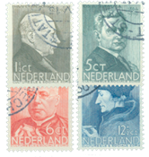 Holland 1936 - NVPH 283-286 - Stemplet