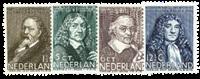 Netherlands 1937 - NVPH 296-299 - Unused