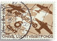 Nederland Luchtvaartfondszegel 1935 - Nr. 278 - Gebruikt