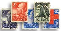 Holland 1927 - NVPH 203-207 - Stemplet