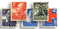Netherlands 1927 - NVPH 203-207 - Cancelled