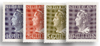 Holland - NVPH 346-349 - Ubrugt