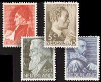 Holland 1935 - NVPH 274-277 - Ubrugt